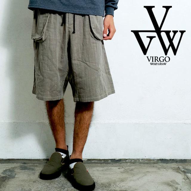 VIRGO ヴァルゴ バルゴ 'EDO 2' RELAX SHORTS 【ショートパンツ】【VG-PT-228】【2020SPRING&SUMMER先行予約】【キャンセル不可】