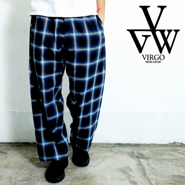 VIRGO ヴァルゴ バルゴ NOSTALGIC CHECK PANTS 【パンツ】【VG-PT-229】【2020SPRING&SUMMER先行予約】【キャンセル不可】
