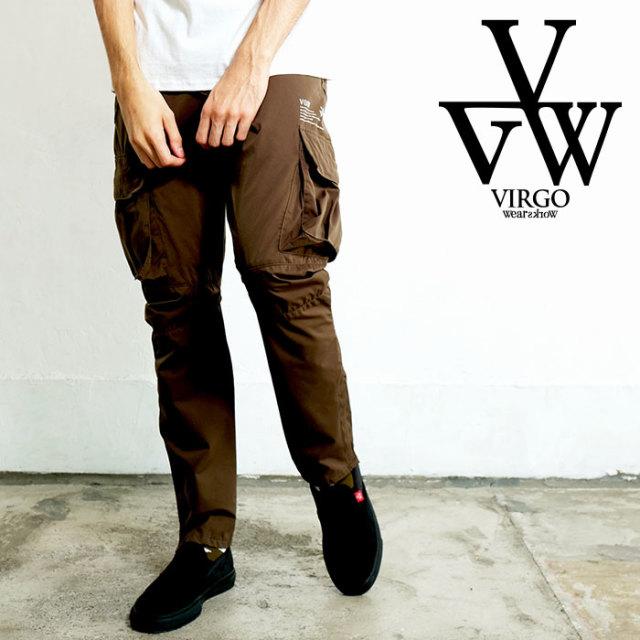 VIRGO ヴァルゴ バルゴ VGW GRAPING CARGO PANTS 【カーゴパンツ】【VG-PT-321】【2020SPRING&SUMMER先行予約】【キャンセル不可】