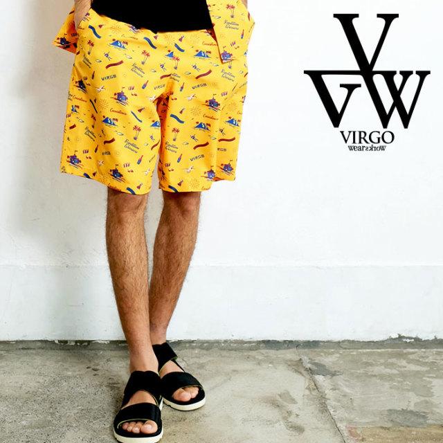VIRGO ヴァルゴ バルゴ VIRGER ISLAND SHORTS 【ショートパンツ】【VG-PT-327】【2020SPRING&SUMMER先行予約】【キャンセル不可】