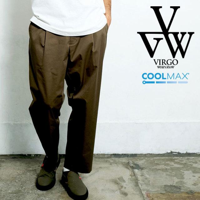 VIRGO ヴァルゴ バルゴ COMFY TAILORED PANTS 【テーラードパンツ】【VG-PT-330】【2020SPRING&SUMMER先行予約】【キャンセル不可