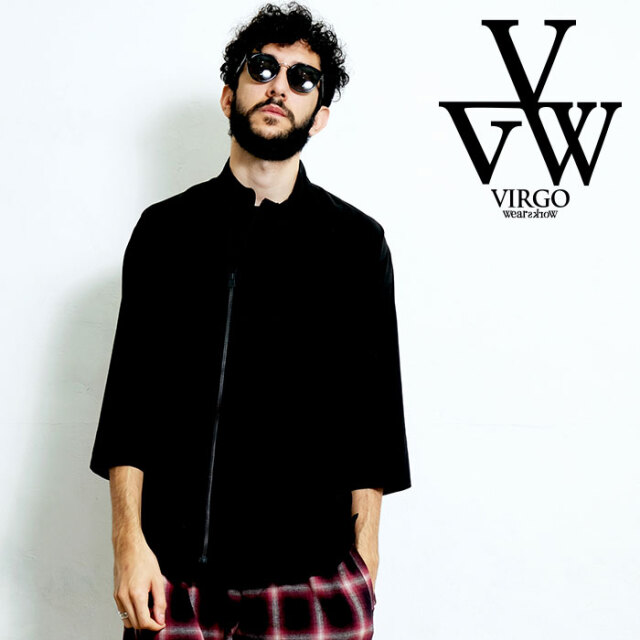 VIRGO ヴァルゴ バルゴ JIP JACKEY SHIRTS 【2WAYシャツ】【VG-SH-212】【2020SPRING&SUMMER先行予約】【キャンセル不可】