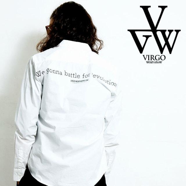 VIRGO ヴァルゴ バルゴ STD WARD SHIRTS 【シャツ 長袖】【VG--SH-214】【2020SPRING&SUMMER先行予約】【キャンセル不可】
