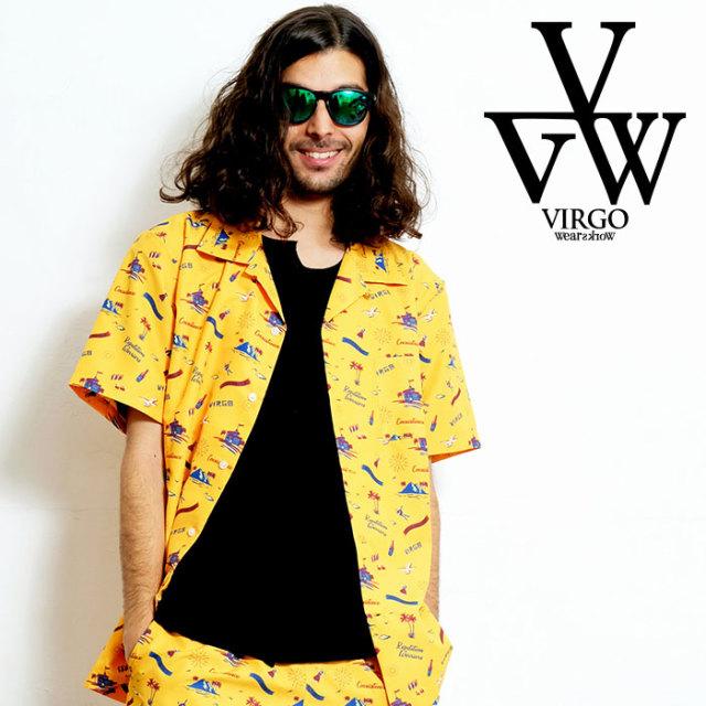 VIRGO ヴァルゴ バルゴ VIRGER ISLAND SHIRTS 【アロハシャツ】【VG-SH-217】【2020SPRING&SUMMER先行予約】【キャンセル不可】