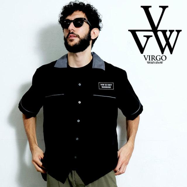 VIRGO ヴァルゴ バルゴ PANTHER BORING SHIRTS 【ボーリングシャツ】【VG-SH-218】【2020SPRING&SUMMER先行予約】【キャンセル不可