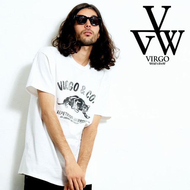 VIRGO ヴァルゴ バルゴ OLD PANTHER 【Tシャツ】【VG-SSPT-227】【2020SPRING&SUMMER先行予約】【キャンセル不可】