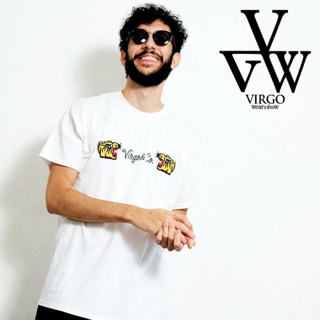 VIRGO ヴァルゴ バルゴ EAT THE TIGER 【Tシャツ】【VG-SSPT-227】【2020SPRING&SUMMER先行予約】【キャンセル不可】