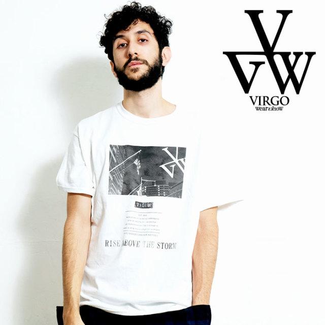 VIRGO ヴァルゴ バルゴ RISE ABOVE THE STORM 【Tシャツ】【VG-SSPT-229】【2020SPRING&SUMMER先行予約】【キャンセル不可】