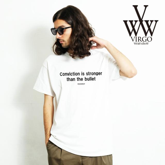 VIRGO ヴァルゴ バルゴ NO BULLET 【Tシャツ】【VG-SSPT-231】【2020SPRING&SUMMER先行予約】【キャンセル不可】