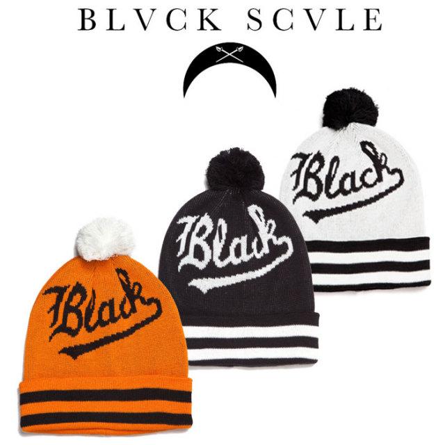 【2014 FALL新作】 【BLACK SCALE】(ブラックスケール)BLACK V'S BEANIE(BEANIE) 【即発送可能】 【6000円(税抜)】