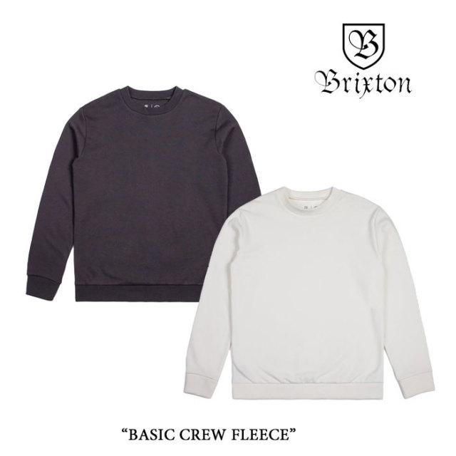 【SALE40%OFF】 BRIXTON(ブリクストン) BASIC CREW FLEECE 【2017AUTUMN/WINTER新作】 【即発送可能】 【BRIXTON スウェット】