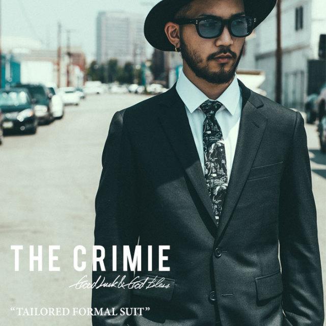 CRIMIE(クライミー) TAILORED FORMAL SUIT 【2017SPRING/SUMMER先行予約】 【送料無料】【キャンセル不可】 【C1F5-ST02】 【CR