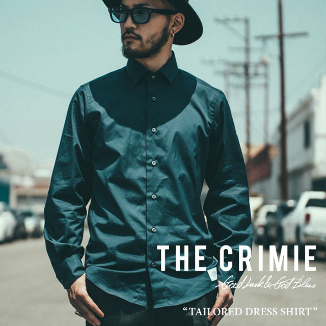 CRIMIE(クライミー) TAILORED DRESS SHIRT 【2017SPRING/SUMMER先行予約】 【送料無料】【キャンセル不可】 【C1F5-STS1】【CRIM