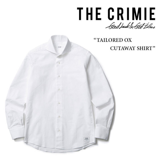 CRIMIE(クライミー) TAILORED OX CUTAWAY SHIRT 【2017SPRING/SUMMER先行予約】 【送料無料】【キャンセル不可】 【C1F5-STS2】
