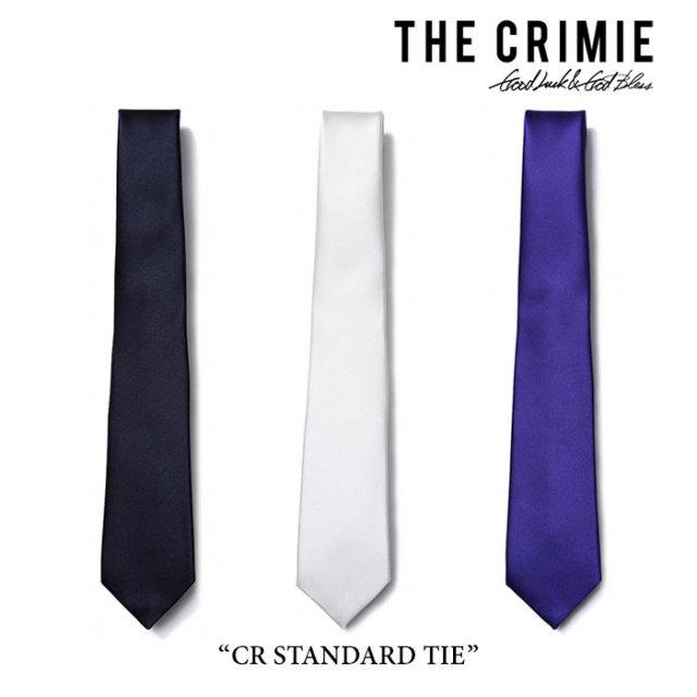 CRIMIE(クライミー) CR STANDARD TIE 【2017SPRING/SUMMER先行予約】 【送料無料】【キャンセル不可】 【C1G1-AC21】 【CRIMIE