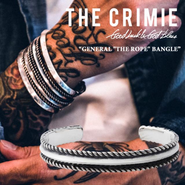 CRIMIE(クライミー) GENERAL THE ROPE BANGLE 【2018SPRING/SUMMER先行予約】 【送料無料】【キャンセル不可】 【CRIMIEバングル