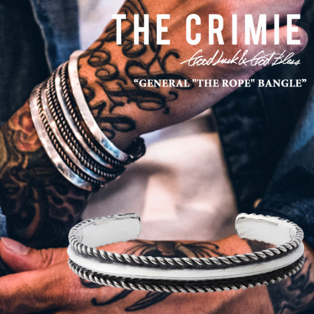 CRIMIE(クライミー) GENERAL THE ROPE BANGLE 【2017AUTUMN/WINTER先行予約】 【送料無料】【キャンセル不可】 【CRIMIEバングル
