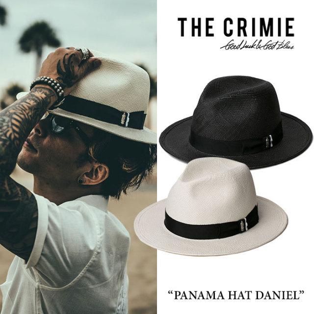 【SALE 40%OFF】 CRIMIE(クライミー) PANAMA HAT DANIEL 【2017SPRING/SUMMER新作】 【送料無料】【即発送可能】 【CRIMIE ハッ