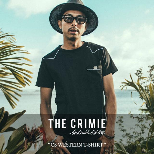 CRIMIE(クライミー) CS WESTERN T-SHIRT 【2017SUMMER先行予約】 【キャンセル不可】 【C1G3-CS06】【CRIMIE Tシャツ】