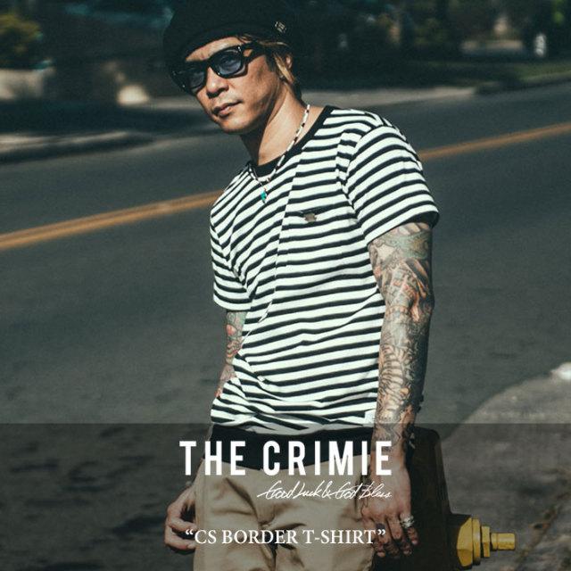 CRIMIE(クライミー) CS BORDER T-SHIRT 【2017SUMMER先行予約】 【キャンセル不可】 【C1G3-CS07】 【CRIMIE Tシャツ】