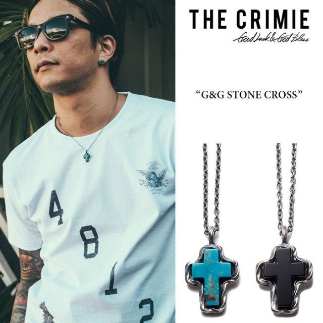 CRIMIE(クライミー) G&G STONE CROSS 【2017AUTUMN/WINTER先行予約】 【送料無料】【キャンセル不可】 【CRIMIE ネックレス】【C