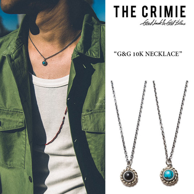 CRIMIE(クライミー) G&G 10K NECKLACE 【2018SPRING/SUMMER先行予約】 【送料無料】【キャンセル不可】 【C1H1-CXAG-GN02】【C1H