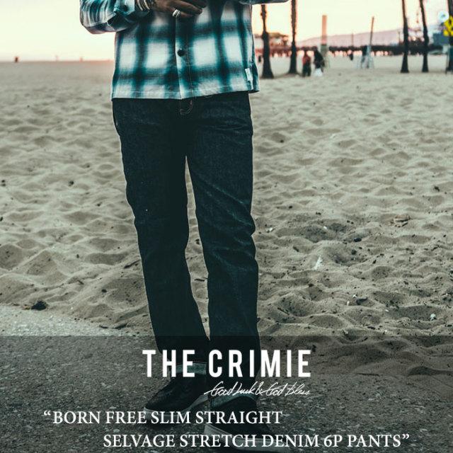 CRIMIE(クライミー) BORN FREE SLIM STRETCH SELVAGE DENIM 6P PANT 【2017SUMMER先行予約】 【送料無料】【キャンセル不可】 【