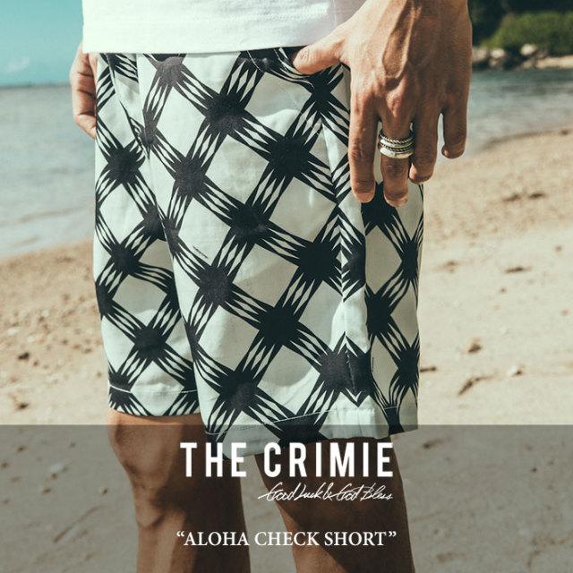 CRIMIE(クライミー) ALOHA CHECK SHORT 【2017SUMMER先行予約】 【送料無料】【キャンセル不可】 【C1G3-PT11】【CRIMIE ショー