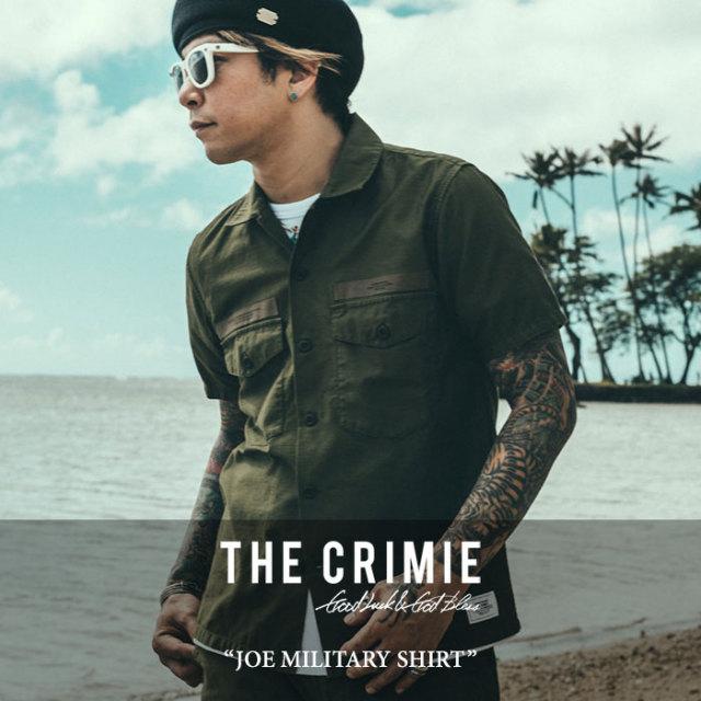 CRIMIE(クライミー) JOE MILITARY SHIRT 【2017SUMMER先行予約】 【送料無料】【キャンセル不可】 【C1G3-SH02】【CRIMIE シャツ