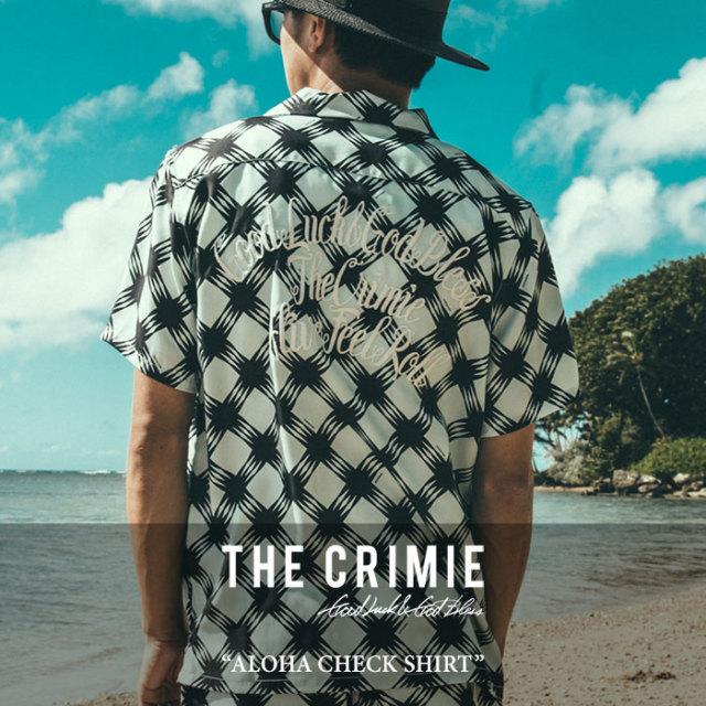 CRIMIE(クライミー) ALOHA CHECK SHIRT 【2017SUMMER先行予約】 【送料無料】【キャンセル不可】 【C1G3-SH20】【CRIMIE シャツ