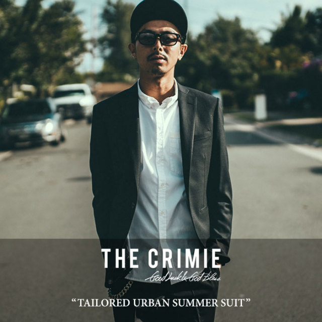 CRIMIE(クライミー) TAILORED URBAN ALL SUMMER SUIT 【2018A/W先行予約】 【送料無料】【キャンセル不可】 【C1H5-CXST03】 【