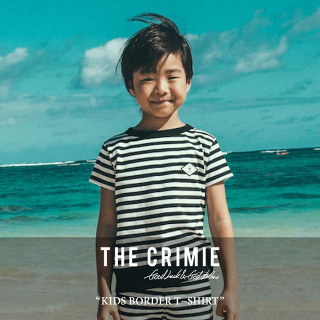 CRIMIE(クライミー) KIDS BORDER T-SHIRT 【2017SUMMER先行予約】 【キャンセル不可】 【C1G3K-CS01】【CRIMIE キッズ】