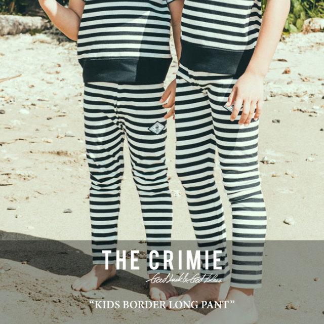 CRIMIE(クライミー) KIDS BORDER LONG PANT 【2017SUMMER先行予約】 【キャンセル不可】 【C1G3K-CS03】【CRIMIE キッズ】