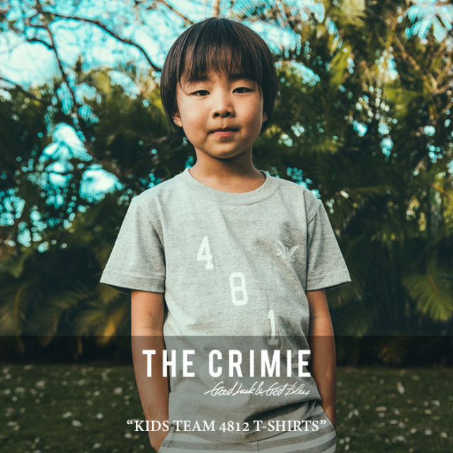 CRIMIE(クライミー) KIDS TEAM 4812 T-SHIRTS 【2017SUMMER先行予約】 【キャンセル不可】 【C1G3K-TE05】【CRIMIE キッズ】