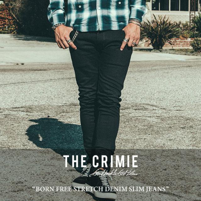 【SALE30%OFF】 CRIMIE(クライミー) BORN FREE STRETCH DENIM SLIM JEANS 【2018SPRING/SUMMER新作】 【送料無料】【即発送可能
