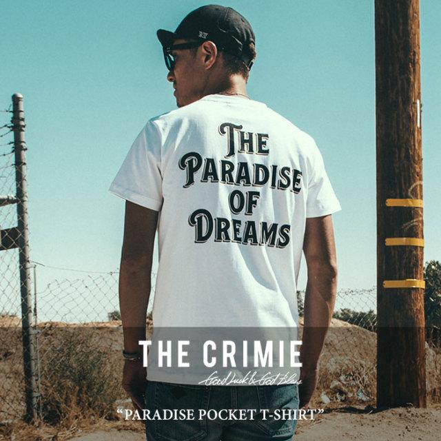 【SALE】 CRIMIE(クライミー) PARADISE POCKET T-SHIRT 【2018SPRING/SUMMER新作】 【即発送可能】 【C1H1-TE01】 【CRIMIE T