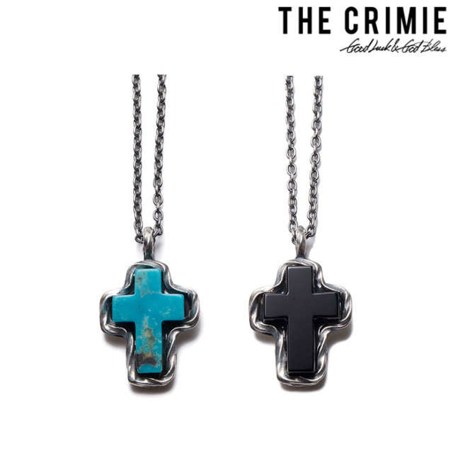 CRIMIE(クライミー) G&G STONE CROSS 【送料無料】【キャンセル不可】 【C1H3-CXAG-GC01】【CRIMIE ネックレス】