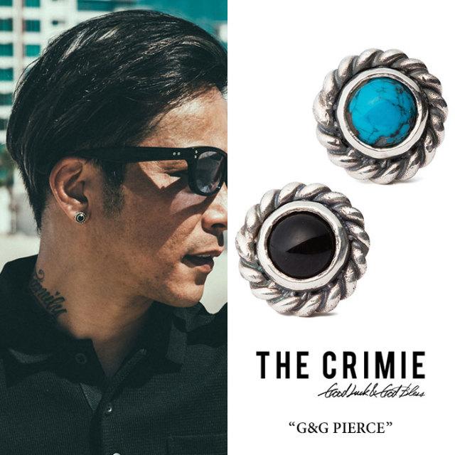 CRIMIE(クライミー) G & G TURQUOISE PIERCE 【2018 SUMMER先行予約】 【送料無料】【キャンセル不可】 【C1H3-CXAG-GP03】 【C