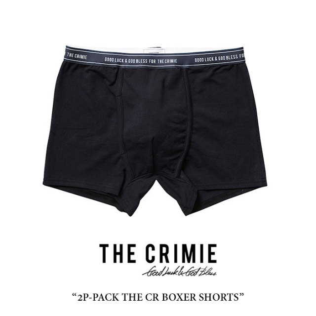 CRIMIE(クライミー) 2P-PACK THE CR BOXER SHORTS 【2018 SUMMER先行予約】 【キャンセル不可】 【C1H3-CXUW-01】