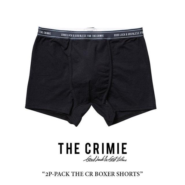 CRIMIE(クライミー) 2P-PACK THE CR BOXER SHORTS 【2018 SUMMER先行予約】 【キャンセル不可】 【C1H3-CXUW-01】