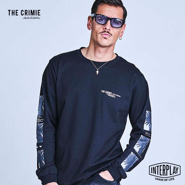 【予約商品】CRIMIE クライミー PHOTO PALM TREE LONG SLEEVE T SHIRT CR1-02A1-CL09  トップス フォトT Tシャツ ファッション スト