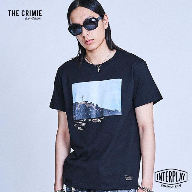 【予約商品】CRIMIE クライミー PHOTO HILL T SHIRT CR1-02A1-CS21  トップス クルーネック フォトT Tシャツ カジュアル アメカジ フ