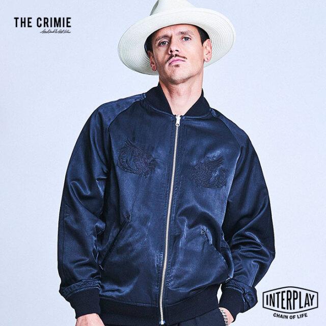 【SALE20%OFF】CRIMIE クライミー REVERSIBLE SKA JACKET CAMO CR1-02A1-JK02  スカジャン リバーシブル ブルゾン ジャケット 刺繍