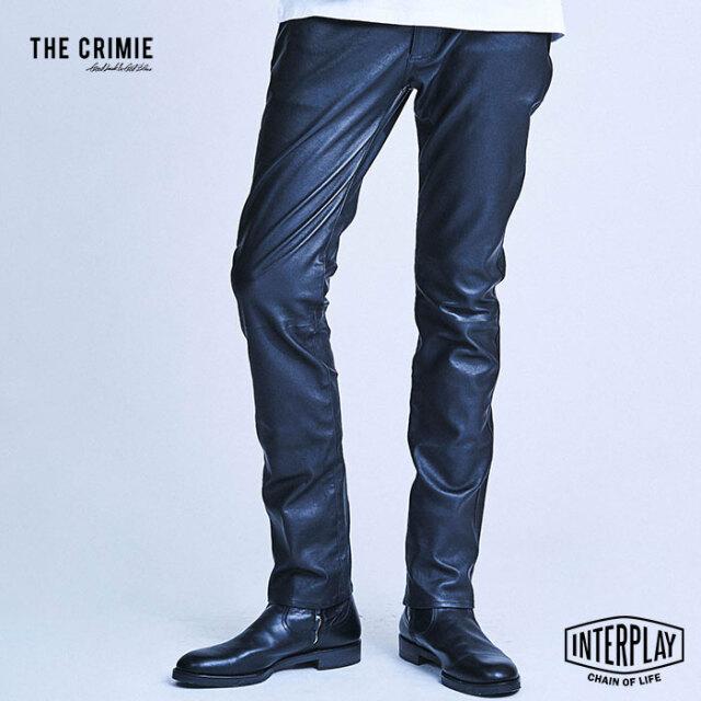 【SALE30%OFF】CRIMIE クライミー LEATHER STRETCH PANTS CR1-02A1-PL30  レザー パンツ パンツ ラムレザー タイト カジュアル ファ