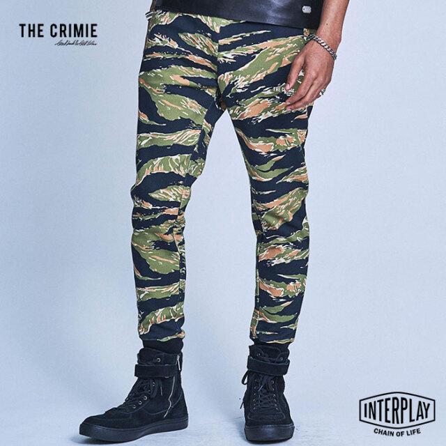【SALE30%OFF】CRIMIE クライミー TIGER CAMO SWEAT JOGGER PANTS CR1-02A1-PL80  スウェットパンツ パンツ スウェット ファッション