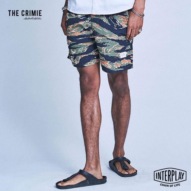 【予約商品】CRIMIE クライミー TOWN & SWIM TIGER CAMO SHORTS CR1-02A1-PS04  ショーツ パンツ 水陸両用 カジュアル アメカジ スト