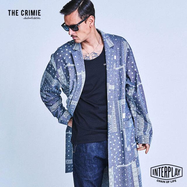 【SALE40%OFF】CRIMIE クライミー BANDANA GOWN SHIRT CR1-02A1-SL04  トップス ガウン シャツ バンダナ カジュアル ファッション ブ