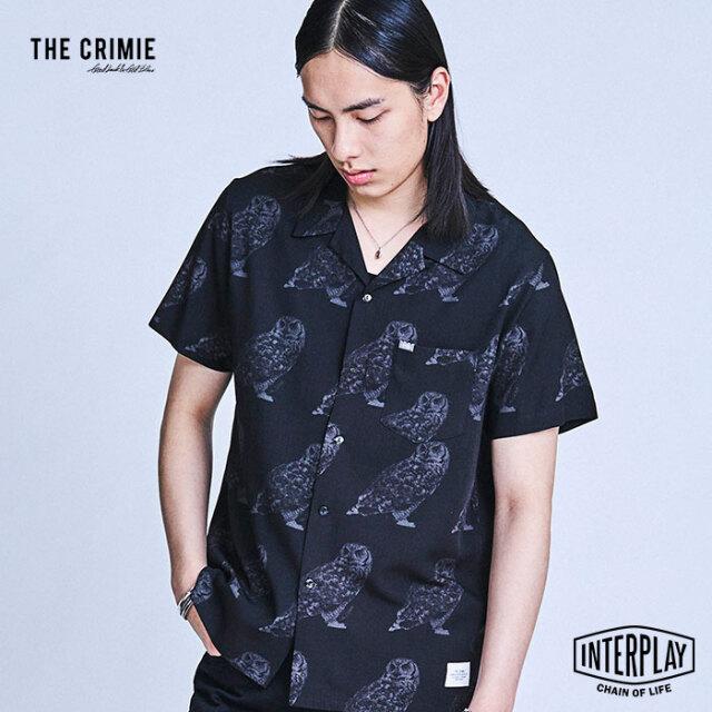 【予約商品】CRIMIE クライミー OWL ALOHA SHIRT CR1-02A1-SS09  アロハ トップス シャツ オープンカラー カジュアル ファッション