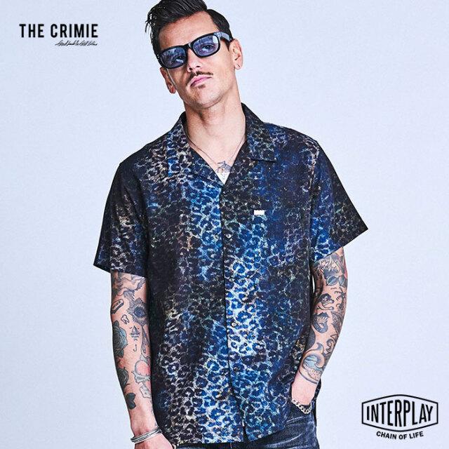 CRIMIE クライミー NOISE LEOPARD ALOHA SHIRT CR1-02A1-SS10  アロハ トップス シャツ オープンカラー レオパード ファッション ア