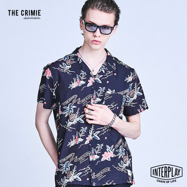 CRIMIE クライミー GUADALUPE MARIA ALOHA SHIRT CR1-02A1-SS11  アロハ トップス シャツ オープンカラー ファッション アメカジ 高